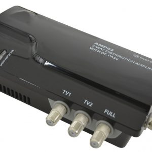 4G Ready vHF/UHF Distribution Amplifiers with DC Pass