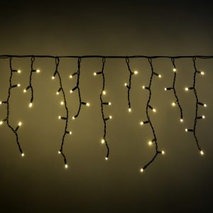 Connectable Icicle-Inspired Outdoor LED String Lights