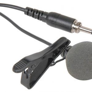 Lavalier Tie-clip Microphones for Wireless Systems