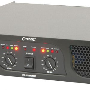 PLX Series Power Amplifiers