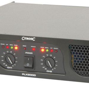 PLX Series Power Amplifiers