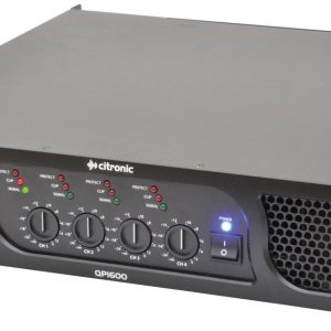 QP Series Quad Power Amplifiers