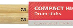 Compact Hickory Drum Sticks – 1 Pair