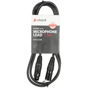Classic Microphone Leads XLR Female – XLR Male