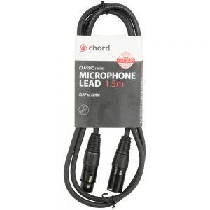 Classic Microphone Leads XLR Female – XLR Male