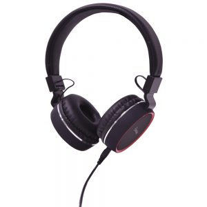 Multimedia Headphones with Inline Microphone