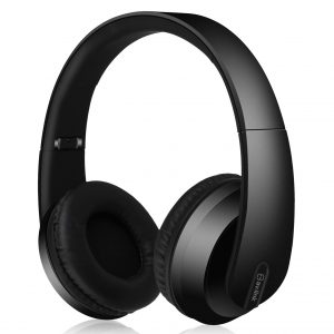 Satin Finish Bluetooth Headphones with Dynamic Bass