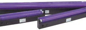QTX 2ft Ultra Violet (Black light) unit complete with tube