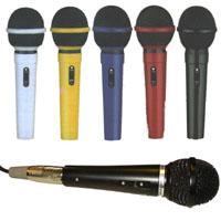 AVSL 5 Colour Karaoke Mic Set