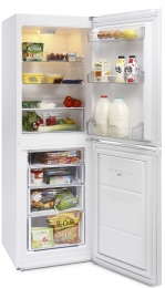 MONTPELLIER WHITE 170CM TALL STATIC FRIDGE FREEZER
