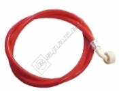 Washing Machine Fill Hose Red (Hot) 1.5M