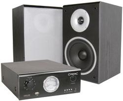 DJ MONITOR SYSTEM WITH USB/MP3 AUDIO INPUT – 80W/CHANNEL