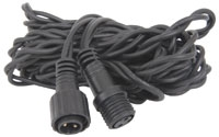 OUTDOOR STRING LIGHT RUBBER EXTENSION CABLE