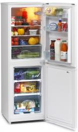 ICEKING 48CM WIDE WHITE FRIDGE FREEZER