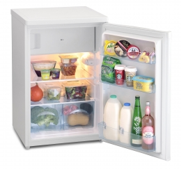 ICEKING WHITE 55CM WIDE FRIDGE WITH 4* ICEBOX