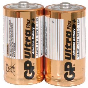 ULTRA ALKALINE C BATTERIES