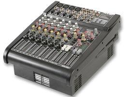 8 Input Powered Mixer + FX 600W