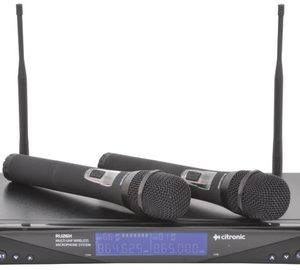 RU26 MULTI-UHF WIRELESS MICROPHONE SYSTEM