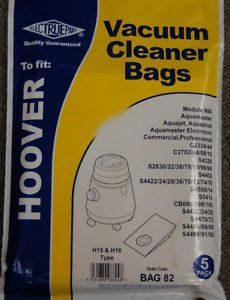 Hoover TYPE H15 H16 AQUAMASTER/JET S4422 S4508 S4470 ELECTRUEPART BAG 82