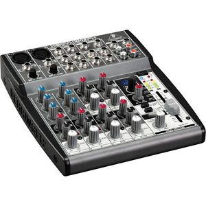 Behringer Xenyx 1002FX Mixer, Gray (ZB318)