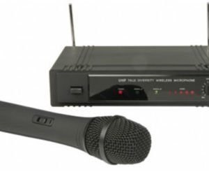 1 Channel UHF Wireless Handheld Microphone System