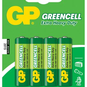 GP Greencell Zinc Chloride Batteries