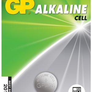 LR44 (A76) Alkaline Button Cell – 125mAh