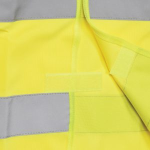High visibility Waistcoat Yellow