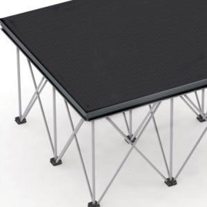 Spider Stage System: Aluminium Risers