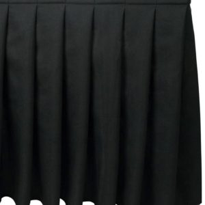 Stage Systems: Pleated Stage Skirts