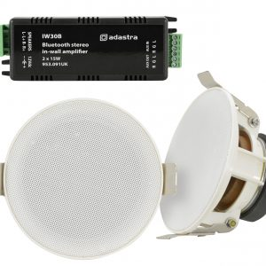 Ceiling Speakers and In-wall Amplifier Package