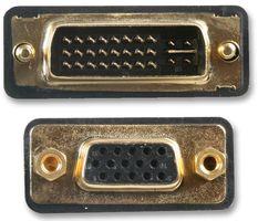 VGA Plug To DVI Socket Adaptor