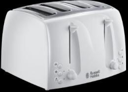 Russell Hobbs 4 Slice White Toaster