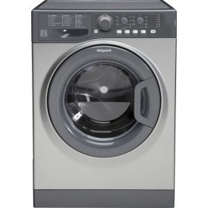 Washer Hotpoint 1400 9kg Black Graphite